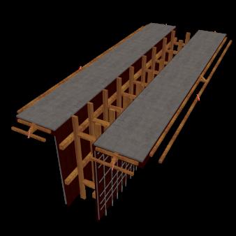 导墙施工动画_BIM模型库-模型展示